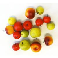 Barevná dekorativní jablíčka S/16