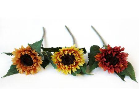 Barevné slunečnice - 3ks