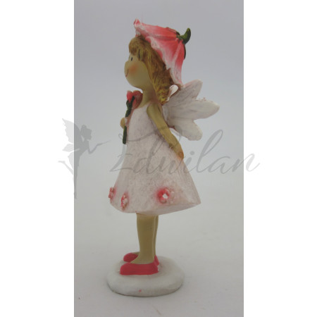 Holčička s květinovým kloboučkem