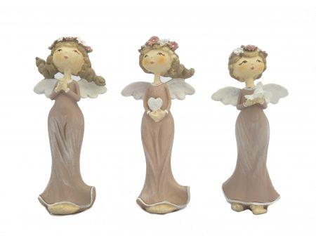 Sada andílků s čelenkou - 3ks