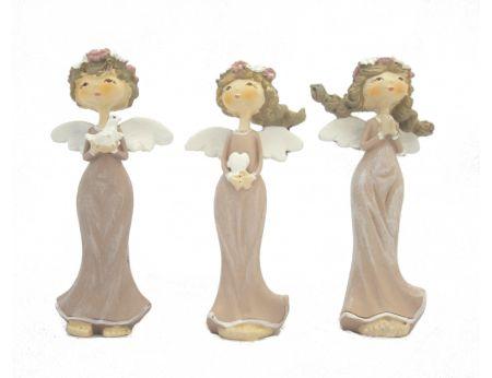 Malí andílci v sadě s čelenkou - 3ks