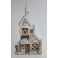 Vysoký svítící kostel