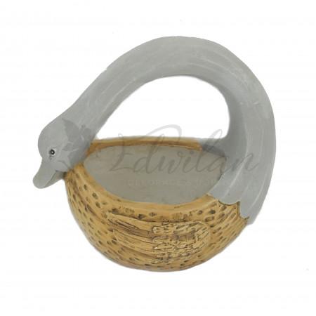 Zahradní dekorace - labuť