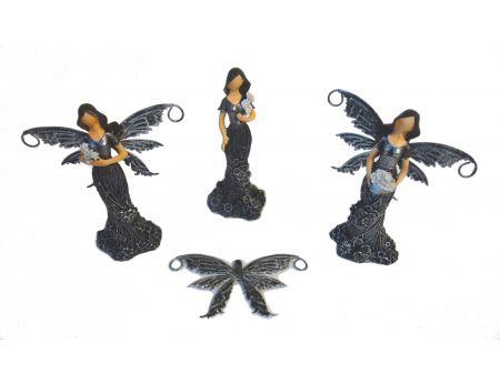 Víla s kovovými křídly